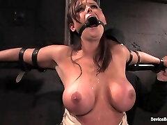 Christina Carter in Christina Carter Machine fucked and tantalized - DeviceBondage