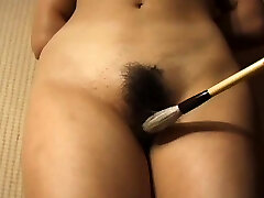 Tied hairy pussy japanese tortured with nasty toys