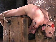 Dahlia Sky Submits to Torment in Penalizing Bondage