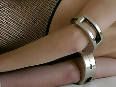 Sexy Dame Tied Up With Kub And Helplessly Chained To Bed (part 2/Two)