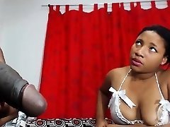 Ebony nurses knows how to cure big dark-hued cocks