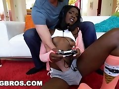 BANGBROS - Black Gamer Ana Foxxx Gets a Good Drill (bkb15973)