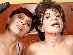 Grannies Hardcore Plowed Interracial Porn with Senior Women loving Black Cocks