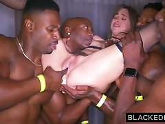 BLACKEDRAW My girlfriend got gangbanged at the after soiree