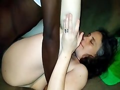 Young Milf Joyfully Romps CL Strangers BBC, Cuckold Bi-racial Online Fuck