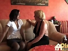 Old Lesbo Gonzo Story