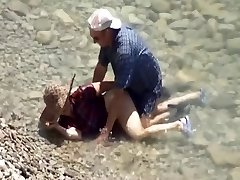 Mature Couple Beach Sex Hidden Webcam