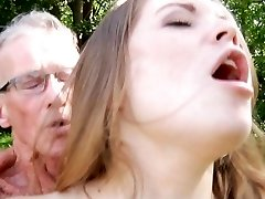 Big old penis smashes nice a very young yummy girl