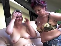 Mature sex soiree with moms and dude