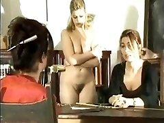 Schoolgirl+Mummy Spanked