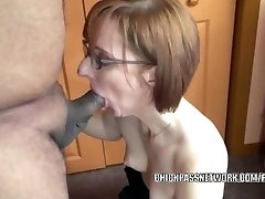 Horny housewife Layla Redd is inhaling a dude she just encountered