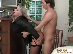 Smoking MILF pummeled from behind