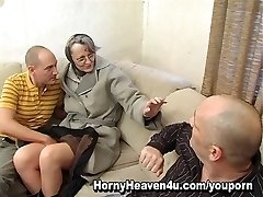 Grandmother Loves It Anal