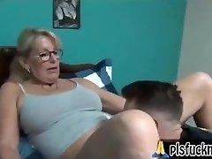Mom fucks son-in-law