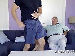 Huge tits stepmom helps guy with boner