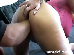 Extremely brutal vaginal fist poking penetra