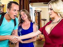 Blake Morgan & Justin Hunt in My Mom's Hottest Homie - DigitalPlayground