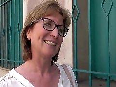 Bashful French divorced teacher