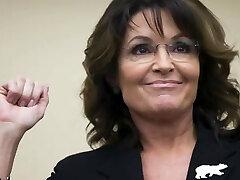 Sarah Palin Jerk Off Contest