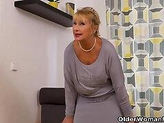 An elder woman means fun part 107