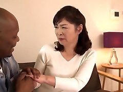 [blb-005]big Ebony Jizz-shotguns A Japanese Mature Woman Goes For A Big Black Ride