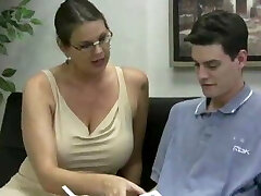 Carrie moon jerks off college girl