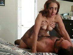 Pretty soccer mother gets fucked and has loud orgasm gets inseminated