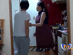 Chinese Housewife cant do her homework vintagepornbay.com