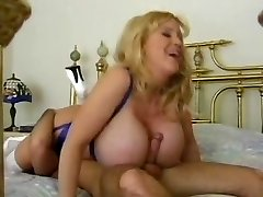 Huge Natural Boobed Blonde Mommy by TROC