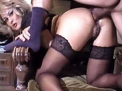 Adorable mature anal retro