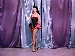Antique Stripper Film - B Page Teaserama video two