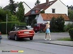 schoolgirl picked for for mischievous ride
