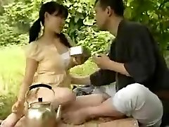 CHINESE Youthfull COUPLE FUCKING OUTSIDE
