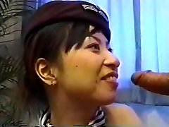 Japanese Stewardess Creampie