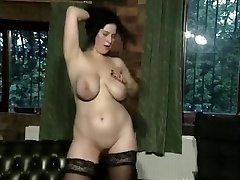 Busty FC babe plays 01