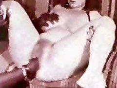 Great vintage creampie