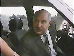 Elder Man With Hooker In Car 1