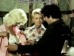 Juliet Anderson, John Holmes, Jamie Gillis in old school smash