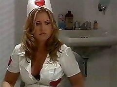 Classic hot nurse poking