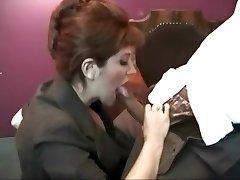 Smoking vintage whore