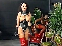 Gal Femdom-Queen #1, 1987 Teresa Orlowski,Jeannie Pepper Part 1