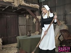 Amish babe Blair Williams saves the heritage with her vulva
