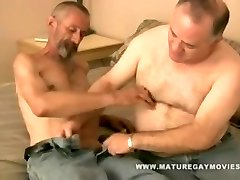 SILVERDADDY Romped BY SKINNY FRIEND