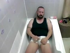 Pissing and cuming
