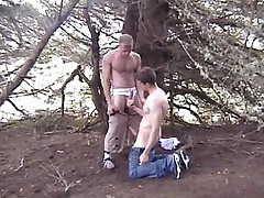 Wood and Cum in the Wild Double Feature - Scene 1
