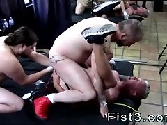 Ass mature only gay The piggy bottom finishes up taking both their fists,