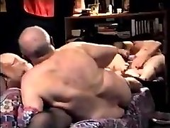 grandpa couple have hot sex