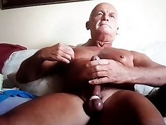 older folks cum