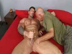 Grandpa fucks muscle hunk Zeb Atlas