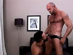 Sexy gay bears suck hard cocks